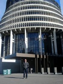 Beehive, colmeia, sede dos Ministérios e onde despacha o Primeiro Ministro do país