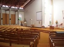 Igreja católica muito linda, toda em madeira