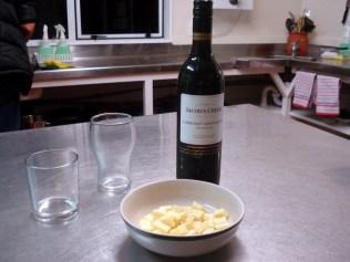 Mordomia: vinho e queijo