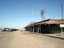 Essa era a antiga estação dos trens que cruzavam os Andes até a Bolívia