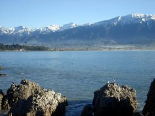 Alpes do Sul parecem pertinho do mar