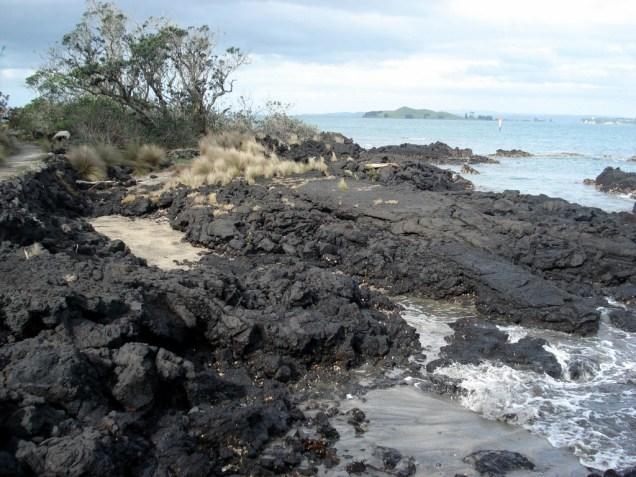 Ilha vulcânica é assim