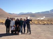 Nosso grupo: dois chilenos em lua de mel, duas espanholas e duas americanas