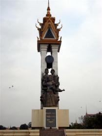Monumento aos soldados do Camboja e Vietnã
