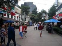Rua Florencia, rua de pedestres