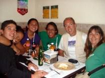 E depois de tanto passeio, comer na La Casa de Toño um restaurante bom, bonito e barato com comidas típicas e frequentado pelos locais. Com nossos hosts e amigos