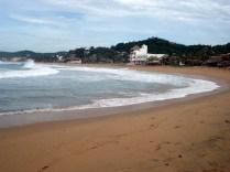 Praia para um lado