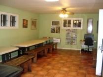 Sala para fazer refeições