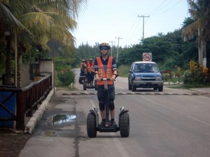 E tirando a cidade, Cozumel é assim meio agreste