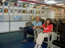 Sala de instruções antes dos voos e das operações