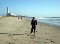 E ai voltamos para Carlsbad que fica à uma hora de San Diego e tem praia