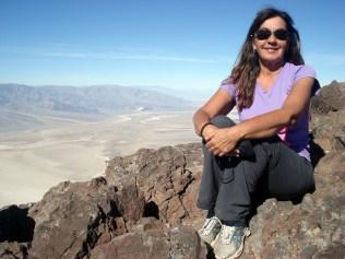 Pude experimentar pessoalmente a beleza e serenidade encontrada no Vale da Morte