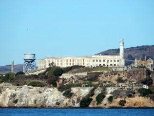 Imaginem a água gelada e as correntes marítimas que os prisioneiros tinham que encarar para tentar fugir de Alcatraz