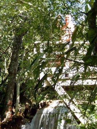 Cachoeira do Salto. Plataforma de 6 metros para saltar