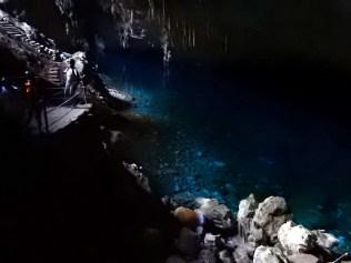 Dimensões que a tornam uma das maiores cavidades inundadas do planeta