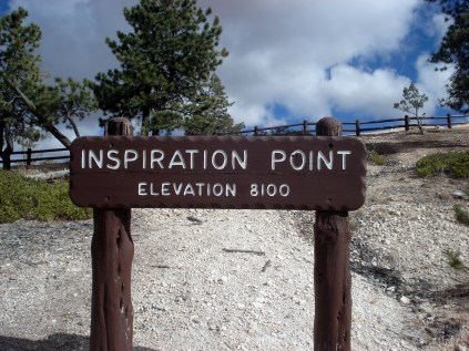Destino final - Inspiration point