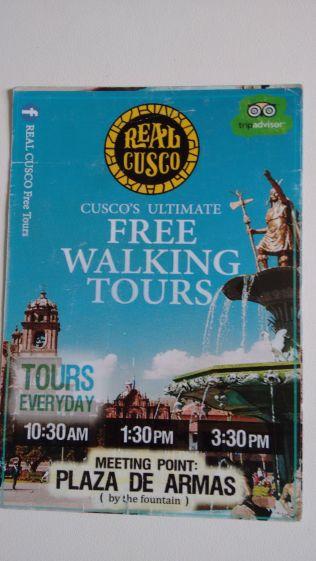 Free Walking Tour errado