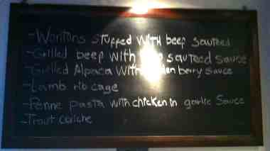 Grilled alpaca - sounds good?