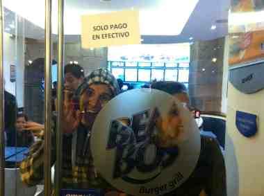 Bembos Peruvian fast food!