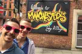 Manchester gay village 1