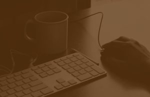 keyboard mouse and mug