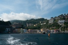 Leaving the marina, Sorrento