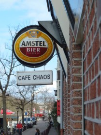 Cafe Chaos - where to go for a beer