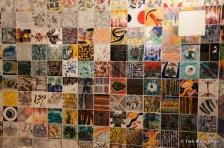 Siena subway art