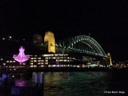 Sydney Harbour bridge, Vivid Festival 2012
