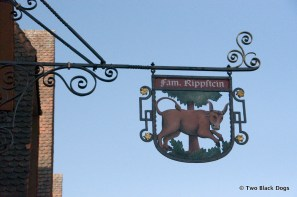 Rothenburg sign