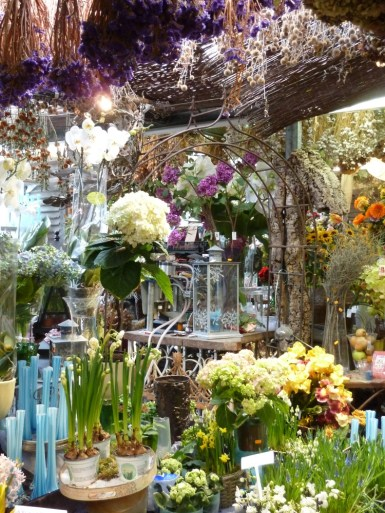 Flower shop, Amsterdam