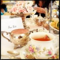 Chai Tea and pink sugar