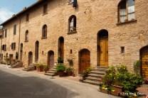 Homes in Pienza