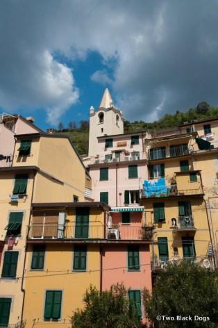 Houses, Riomaggiore Italy