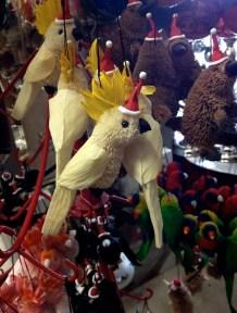 Australiana Christmas decorations