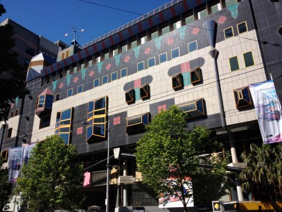 More funky architecture at RMIT