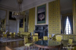 Yellow room inside the Grand Trianon, Versaille