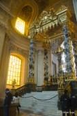 Inside the golden dome, Hotel des Invalides, Paris