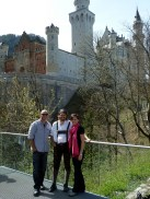 With Joe at Neuschwanstein