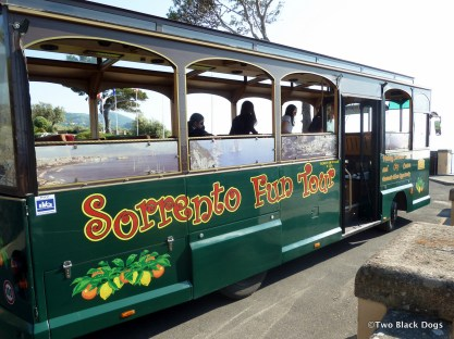 Bus tour, Sorrento style