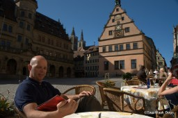 Break time in Rothenburg