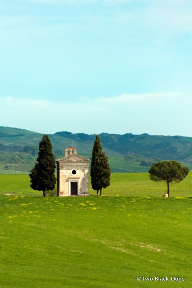 Typical Tuscan scene