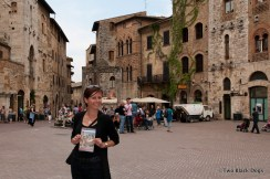 ...and this is me in San Gimignano