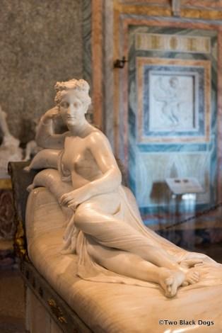 Pauline Bonaparte 1805-1808, Antonio Canova