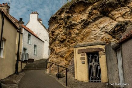 St Fillan's Cave, Pittenweem
