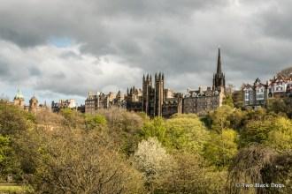 Edinburgh's old town skyline