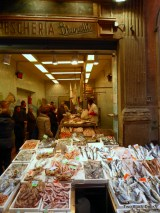 Fish market in the Quadrilatero