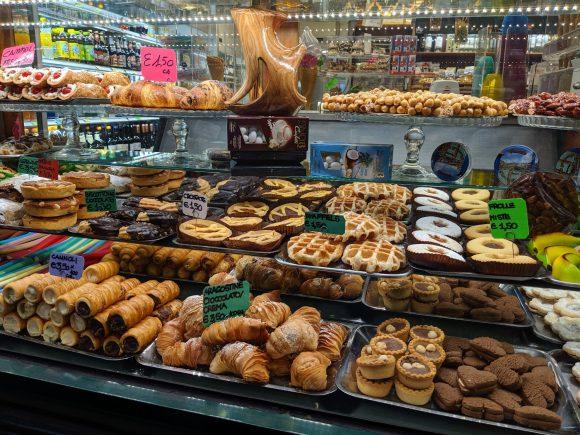 Pastry shop, Venice, Italy