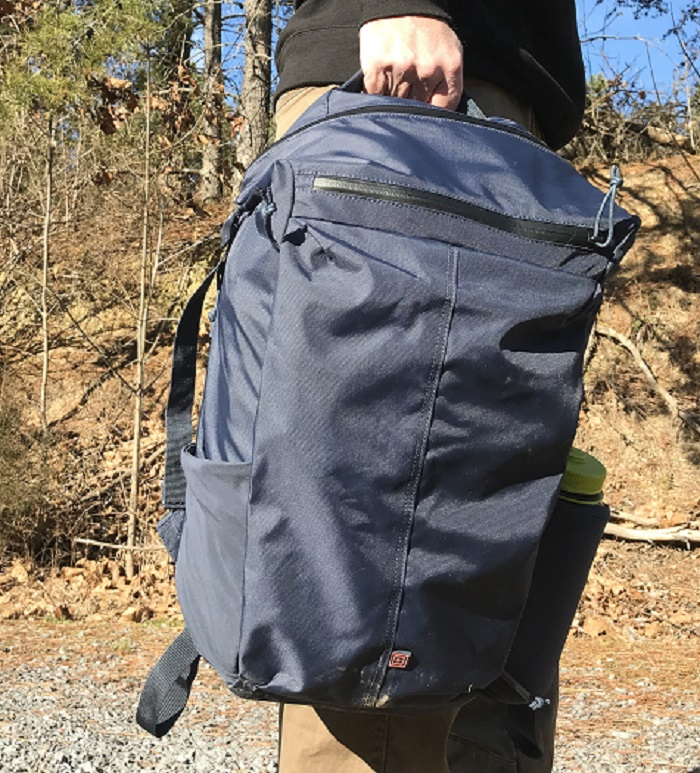 5.11  backpack with nalgene bottle