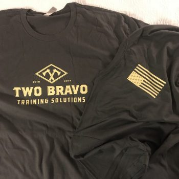 Original Two Bravo Solutions Logo Shirt